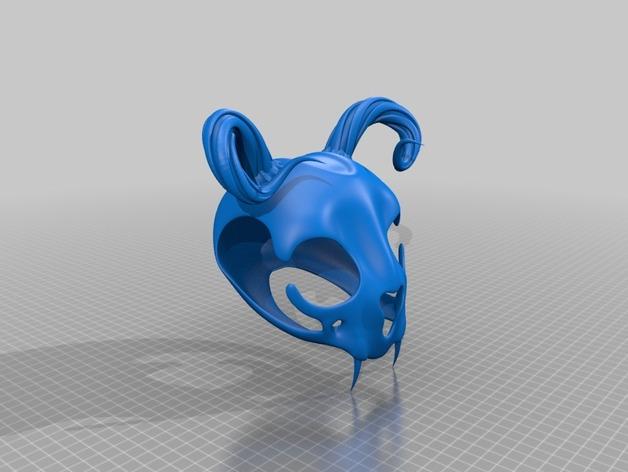 猫头骨模型