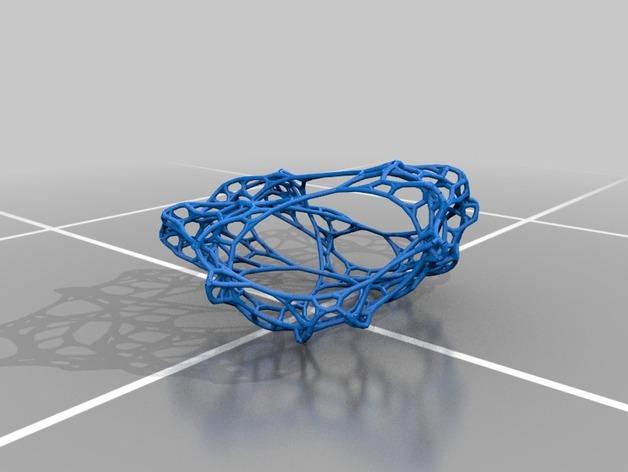 不规则多边形网状结构