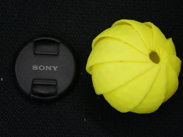 球潮虫模型 3D打印模型渲染图