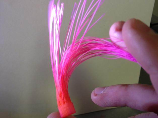 发丝 模型 3D打印模型渲染图