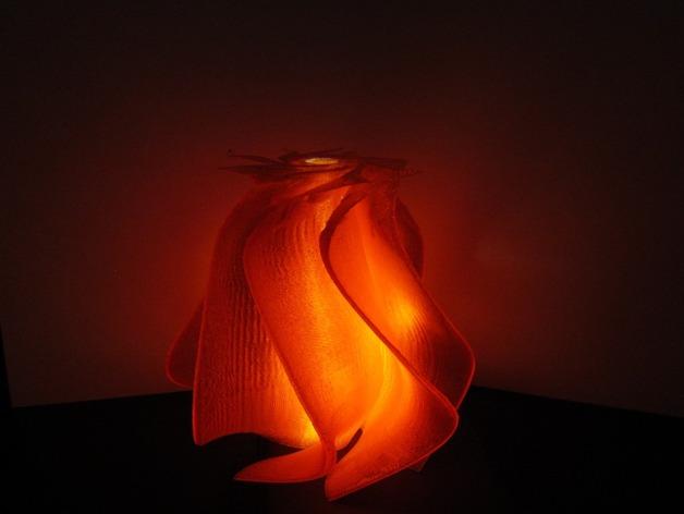 螺旋灯 3D打印模型渲染图