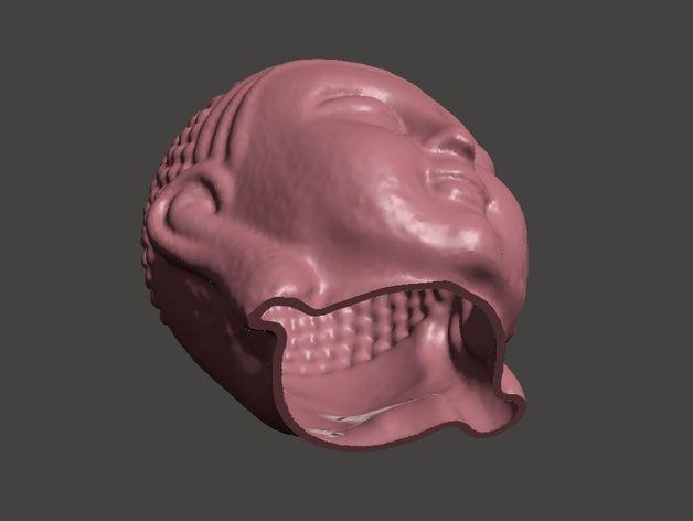 佛祖头像模型