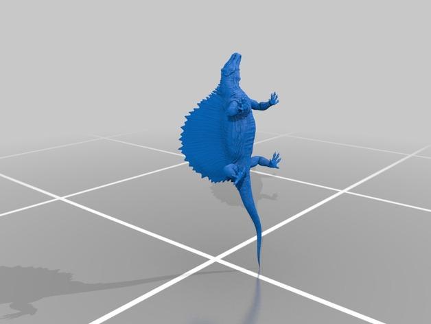 异齿龙模型