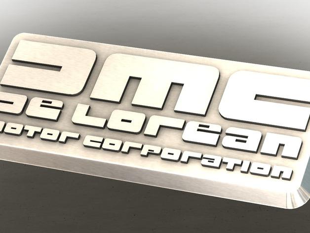 DMC De Lorean徽章
