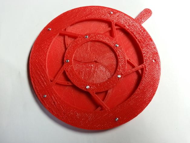 机械虹膜 3D打印模型渲染图