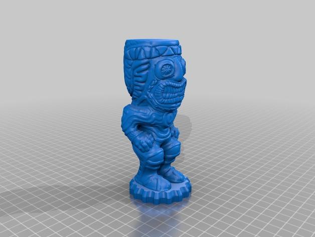 提基石像模型