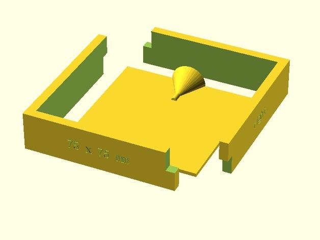 模腔 3D打印模型渲染图