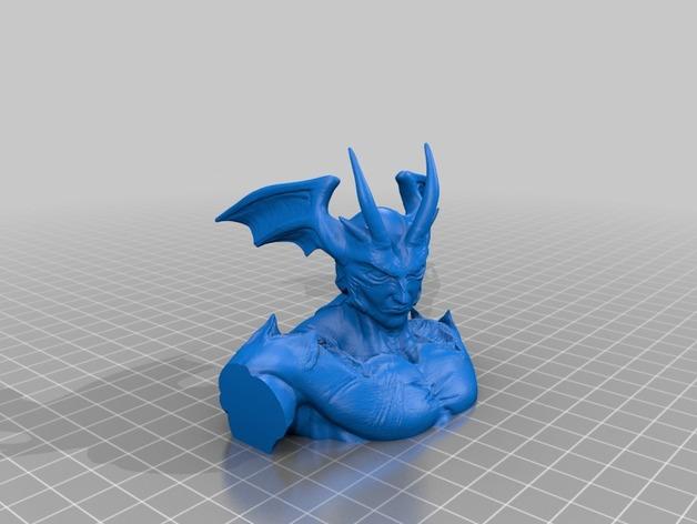 魔鬼人模型