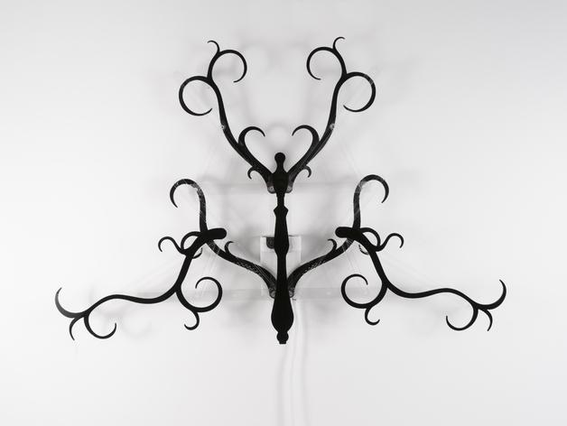 动态雕塑 枝形吊灯