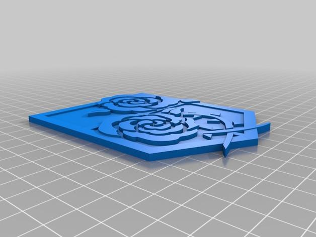 进击的巨人 屯驻地模型 3D打印模型渲染图