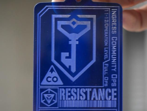 ingress游戏徽章 标志