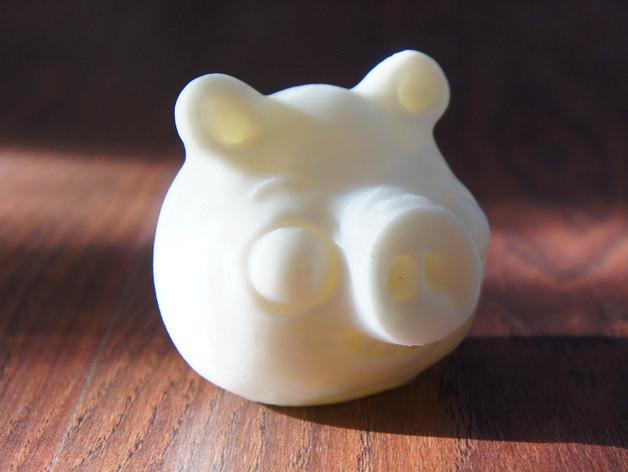 捣蛋猪 模型