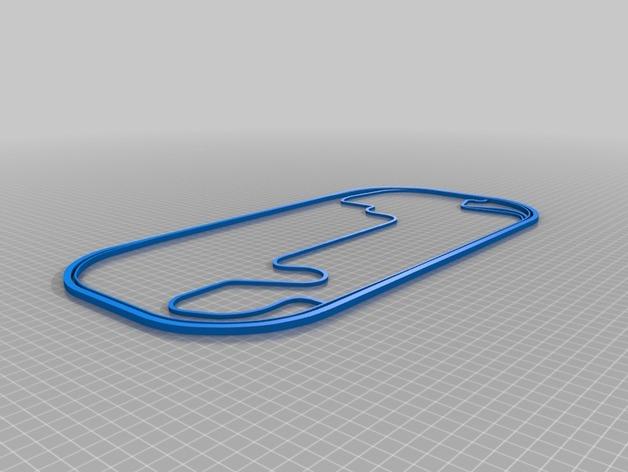 赛道 曲线模型
