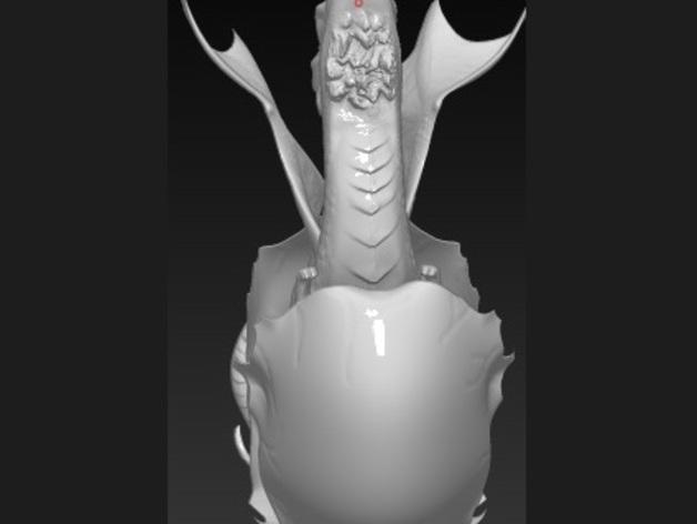 破壳的龙 模型