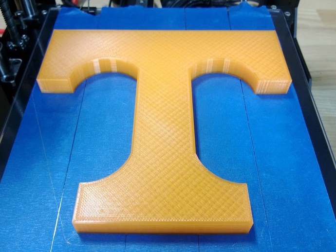 T字标志 3D打印模型渲染图