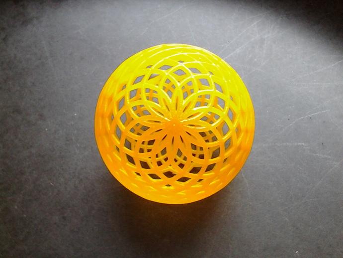 菱格纹球体
