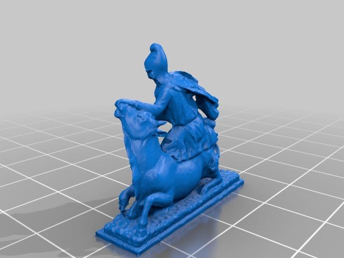 罗马雕塑模型
