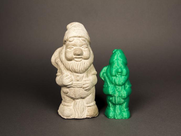 小矮人园丁模型 3D打印模型渲染图