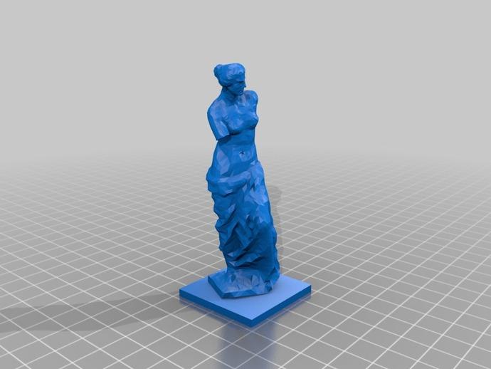 阿佛洛狄忒 3D打印模型渲染图
