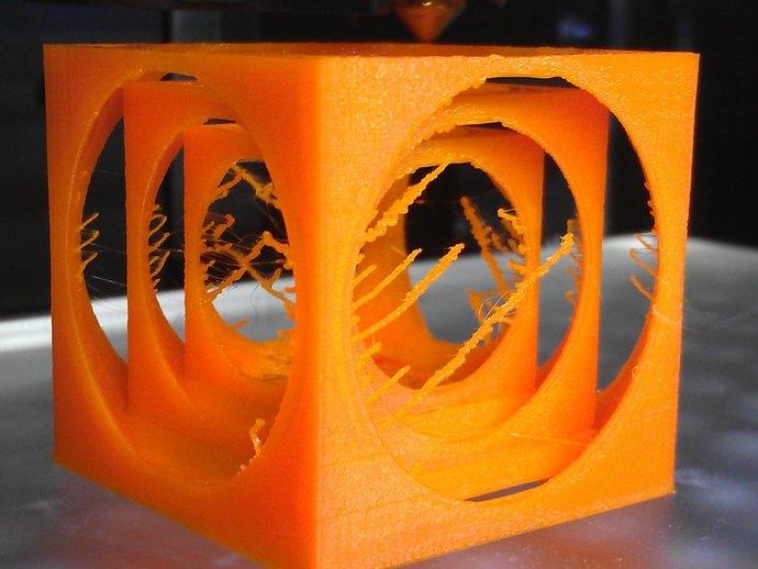 嵌套式立方体