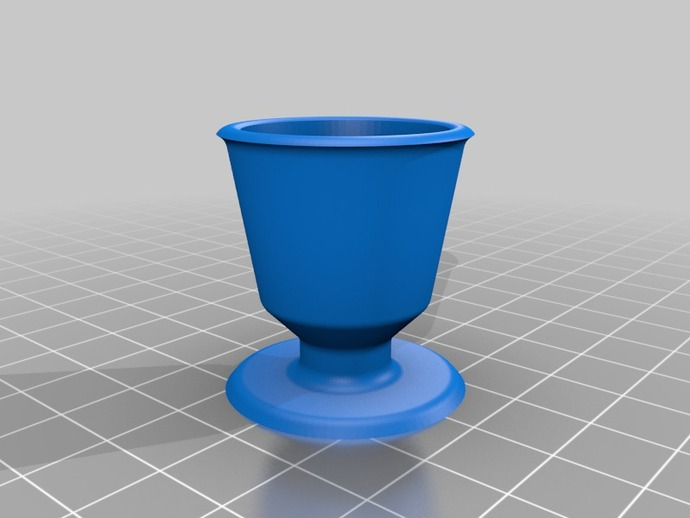 毕达哥拉斯杯 公道杯 3D打印模型渲染图