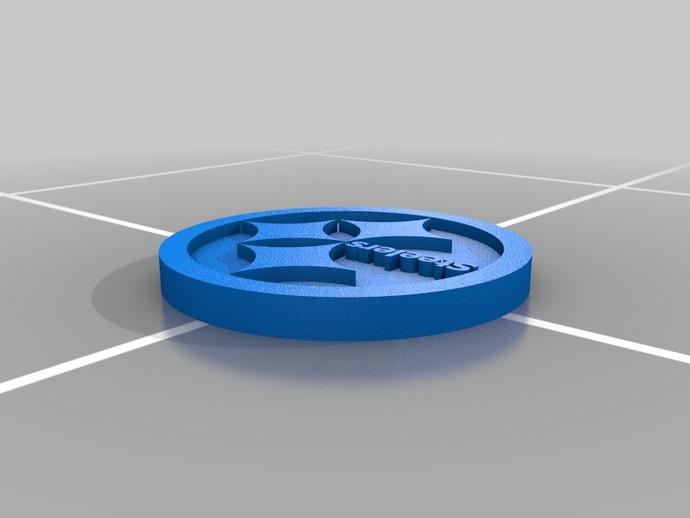 匹兹堡钢人标志 3D打印模型渲染图