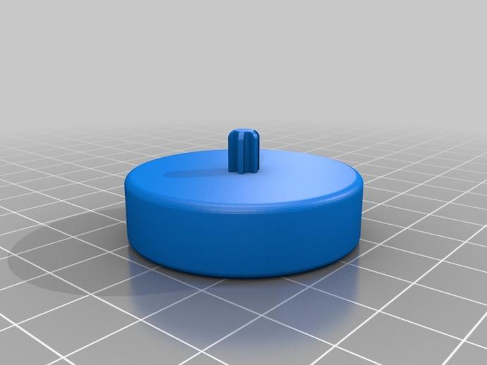 水瓶盖相机架 3D打印模型渲染图