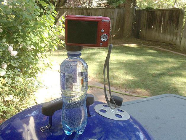 水瓶盖相机架