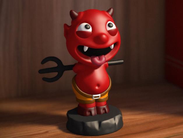 宠物怪兽 Impy 3D打印模型渲染图