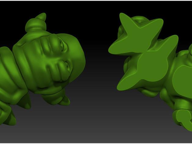 口袋妖怪 Munchy模型
