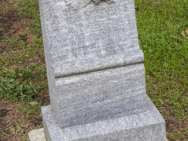 Anna Clara的墓碑模型 3D打印模型渲染图