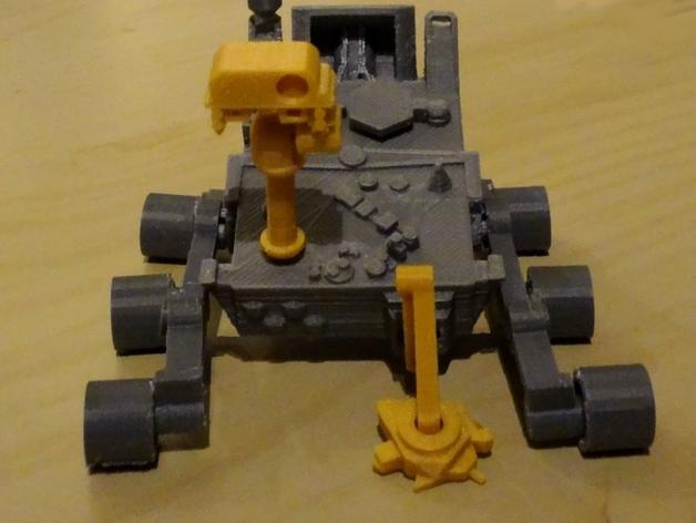 火星基地模型