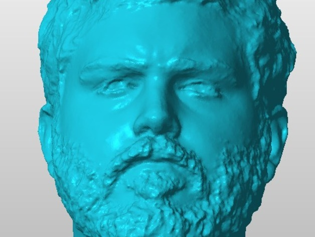 Jerod头像雕塑