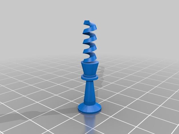 螺旋象棋块