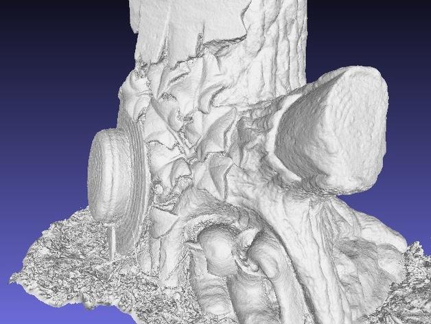 树形墓碑模型