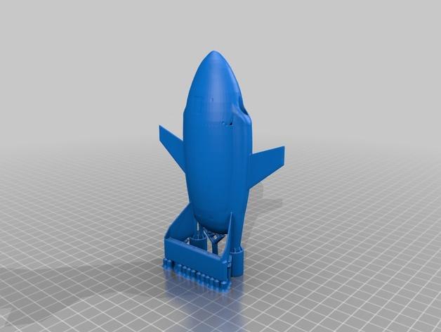 雷鸟飞机模型