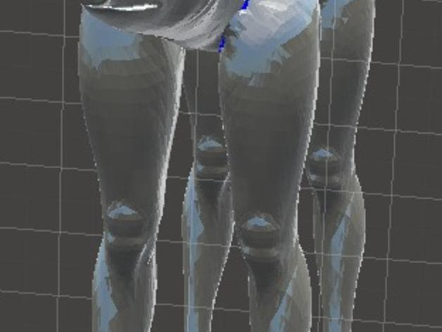 长腿猪模型