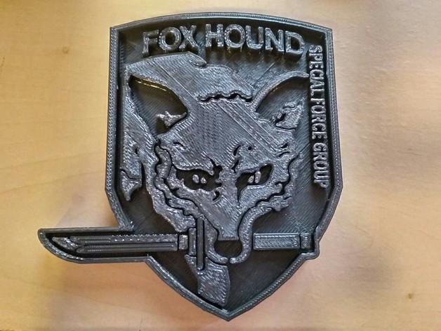 猎狐犬徽章