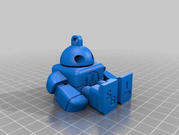 创客机器人模型
