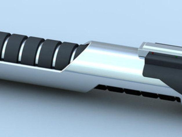 迷你光剑 3D打印模型渲染图