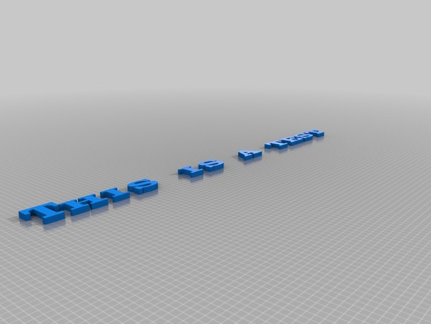 英文字母模型
