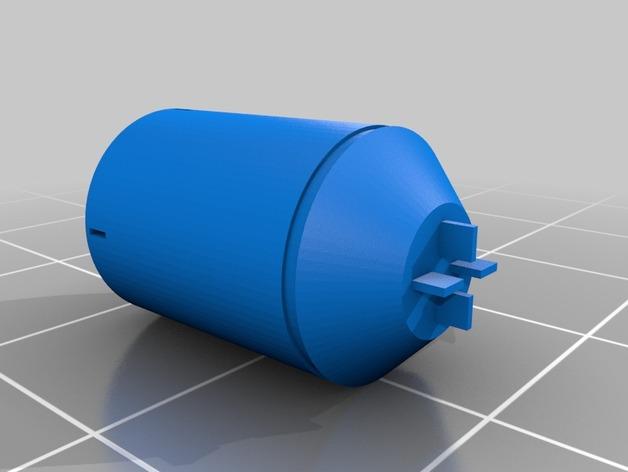 光晕2 手榴弹 3D打印模型渲染图