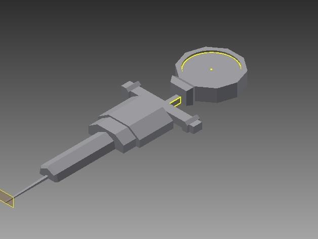 星际争霸道具强化剂模型 3D打印模型渲染图