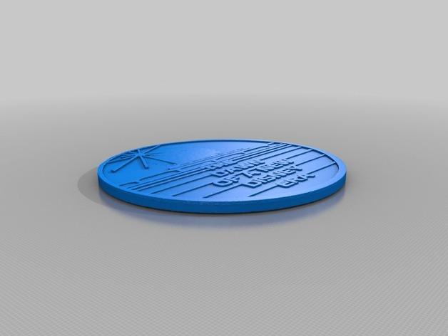迪士尼未来世界纪念币