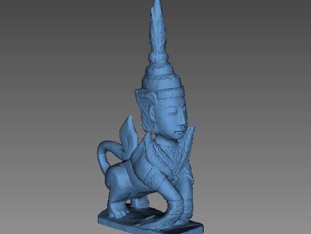 泰国神话 雕塑