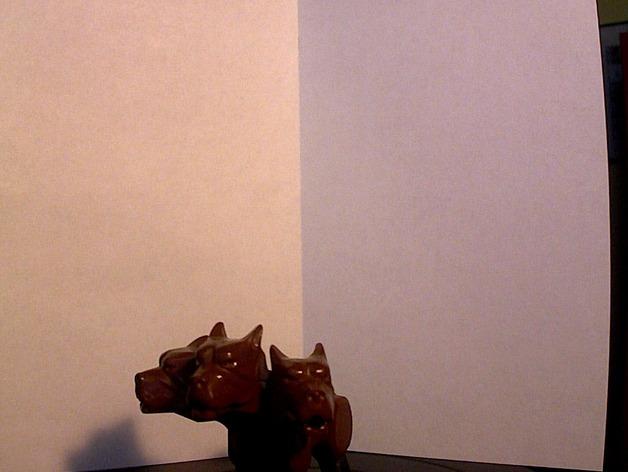 《哈利波特》三头犬 3D打印模型渲染图