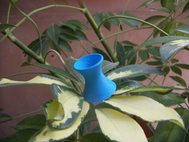 直纹曲面 迷你花瓶 3D打印模型渲染图