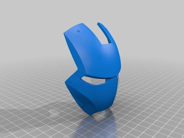 钢铁侠&霸王龙 3D打印模型渲染图