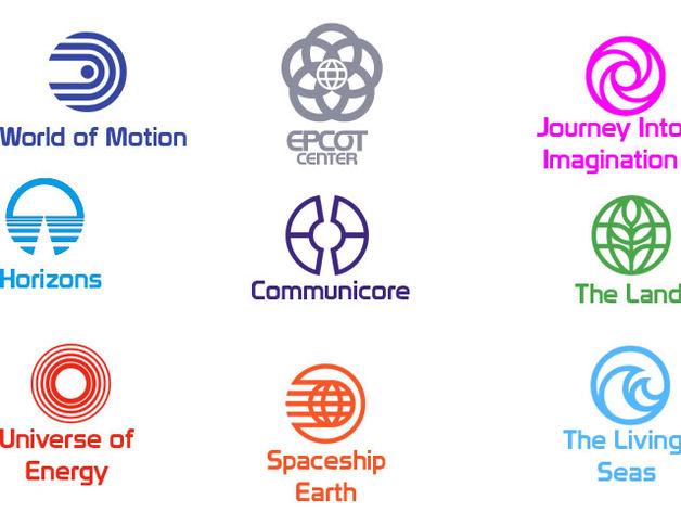 迪士尼未来世界徽章