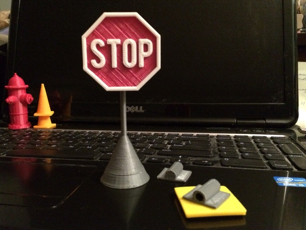 标记支架 3D打印模型渲染图